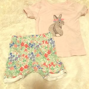 Old navy baby girl pj's